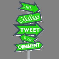 Like Us & Follow Us