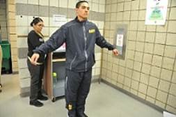 Navy Fitness Suit