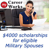 Complete Educational Programs for Military Spouses