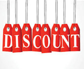 Check Out the Discounts