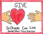 Give Organ and Tissue
