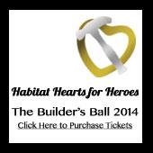 Habitat Builders Ball 2014