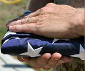 Hands on Flag