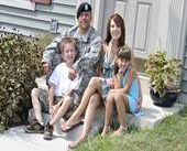 Military Family Home Steps